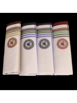 Mens Handkerchiefs - Pack of 4