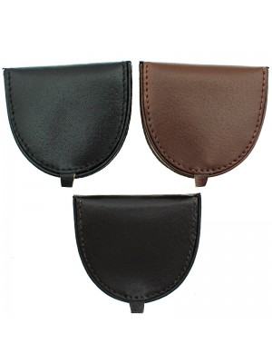 Mens Leather Coin Tray - Assorted Colours