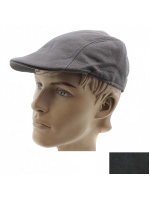 Mens Plain Fashion Flat Ivy Caps - Assorted Colours