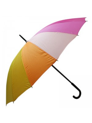 Mens Rainbow Design Walking Umbrella