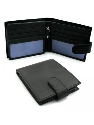 Mens Woodbridge Genuine Leather Wallet - Black