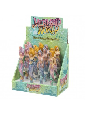 Mermaid World Hand Painted Pens - Assorted Designs