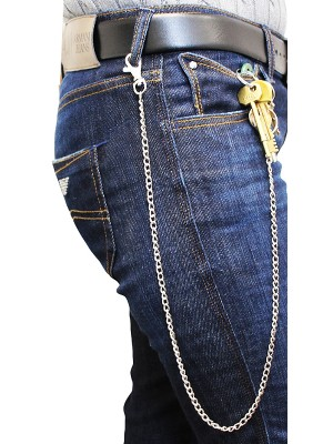 Metal Chain Lightweight Thin With Single Hook