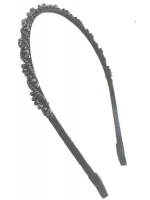 Wholesale Metal Sequin Headband Blue & Purple-1cm