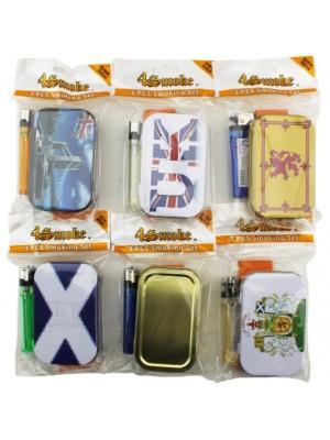 Wholesale 4Smk Storage Tin With Hinged Lid Gift Set