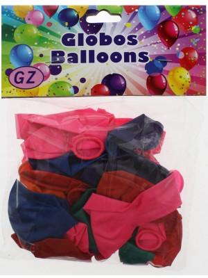 Metallic Colour Balloons - Assorted Colours