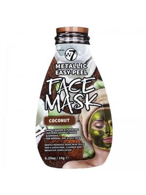 Wholesale W7 Metallic Easy-Peel Coconut Face Mask