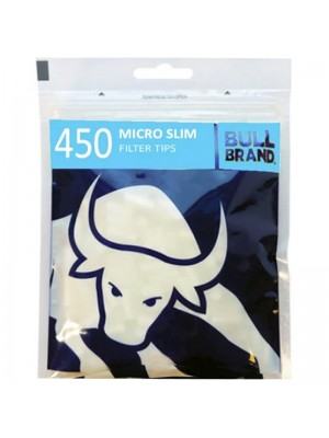 Wholesale Bull Brand 450 Filter Tips - Micro Slim