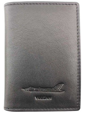 Wholesale Men's Military Heritage Leather Card Wallet - Vulcan
