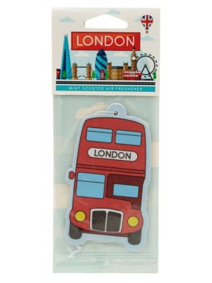 Mint London Red Route Master Bus Air Freshener