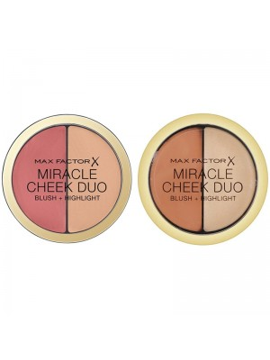 Wholesale Max Factor Miracle Glow Duo Blush+Highlighter - Assorted