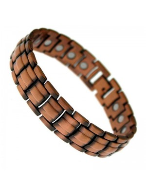 Wholesale Magnetic Bracelet With 21 Magnets - Copper Links
