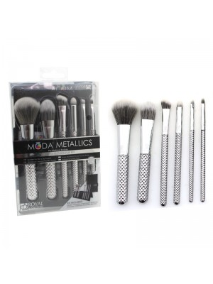 Wholesale Chique Royal Moda Metallics 7pc Total Face Flip Brushes Kit