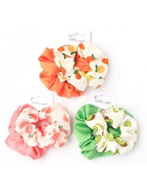 Molly & Rose Satin Scrunchies (Pack of 2) - Assorted