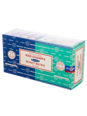 Wholesale Satya incense sticks - Nag Champa & money Matrix