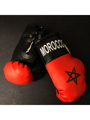 Mini Boxing Gloves - Morocco
