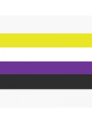 Wholesale Non-Binary Flag - 5ft x 3ft