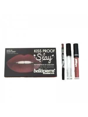 Kiss Proof Slay Lip Collection - Muddy Rose