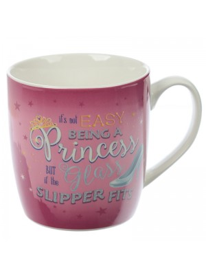 Enchanted Kingdom Princess Slogan New Bone China Mug