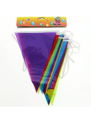 Multicoloured Bunting 20 Flags