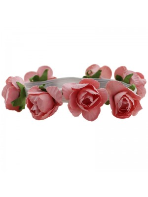 Multipurpose Flowers on Elastic - Pink