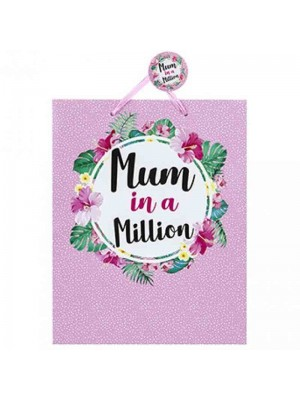 Wholesale Mum in a Million Gift Bag - Large