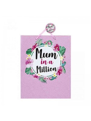 Wholesale Mum in a Million Gift Bag - Small