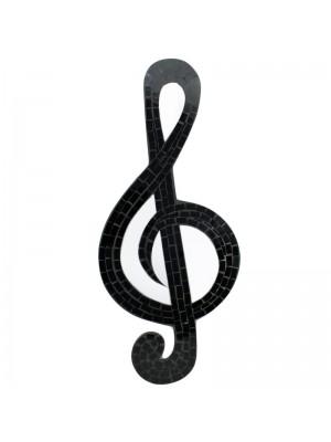 Musical Note Mirror Plaque - 53cm