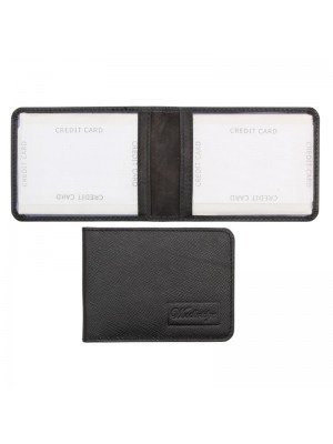 Leather Card Holder - Assorted Colours
