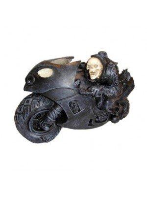 Speed Freak Motorcycle Riders Resin Figurine 19.5 cm