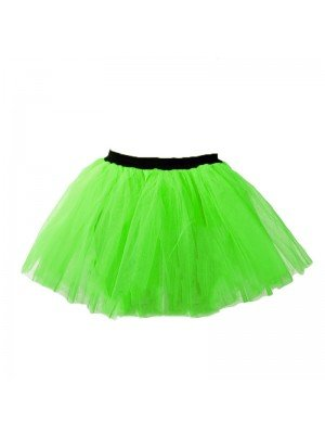 Neon Green Tutu Skirt Size Small