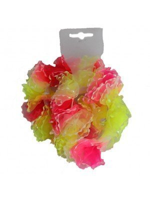 Neon Scrunchies with Iridescent Edges