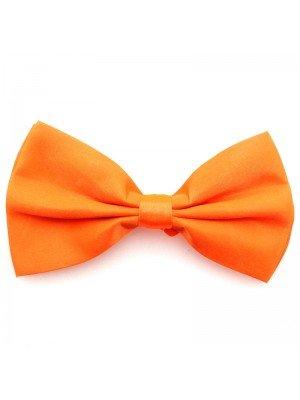 Wholesale Neon Orange Bow Tie