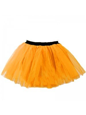 Neon Orange Tutu Skirt One Size