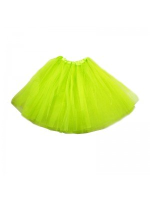 Neon Yellow Tutu Skirt
