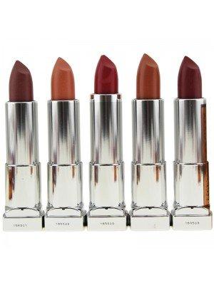 Wholesale Maybelline Color Sensational By Lena Gercke Matte Lipsticks - Assorted Colours