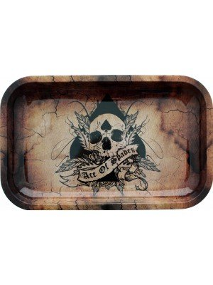 Wholesale Ace of Spades - Rolling Tray 11x7cm