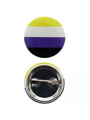 Wholesale Non-Binary Colours Badges