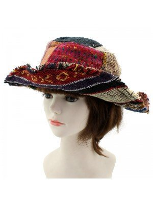 Novelty Summer Hat (Abstract Design)