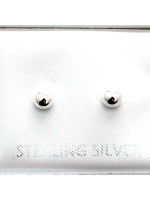 Wholesale Sterling Silver Ball Stud-3mm