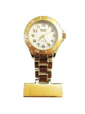 NY London Fashion Fob Watch - Gold