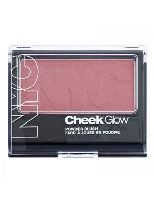 Wholesale NYC Cheek Glow Powder Blush - 703 Plaza Plum