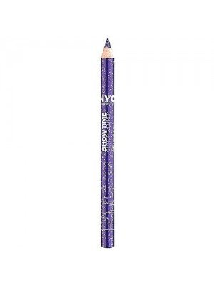 NYC Show Time Silver Glitter Eyeliner 947 Paparazzi Purple