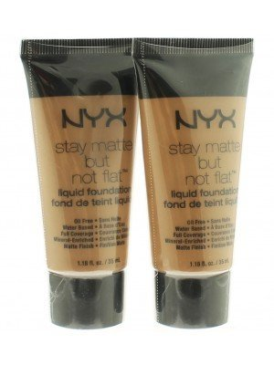 NYX Stay Matte But Not Flat Liquid Foundation - Assorted