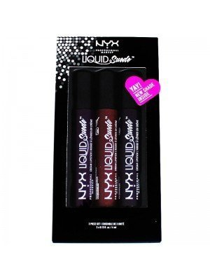 NYX Liquid Suede Cream Lipstick 3 Piece Set - 10
