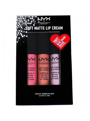 NYX Soft Matte Lip Cream 3 Piece Set - 15