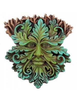 Wholesale Oak King - Wall Plaque - 15cm