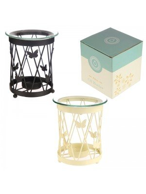 Wholesale Eden Metal Butterfly Lattice oil Burner