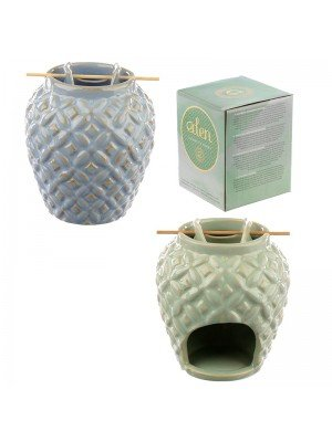 Wholesale Eden Embossed Ceramic Oil Burner