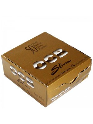 Wholesale OCB King Size Slim Rolling Papers - Gold